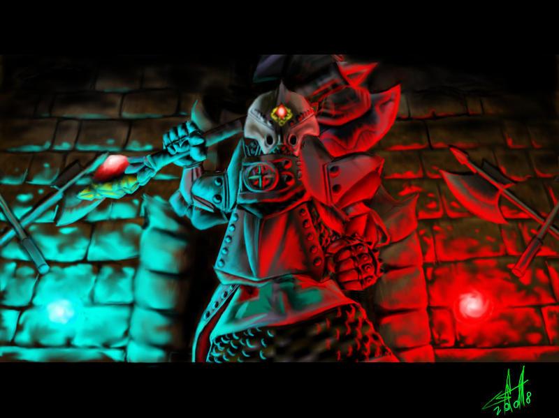 Iron knuckle battle ready by bozoloko