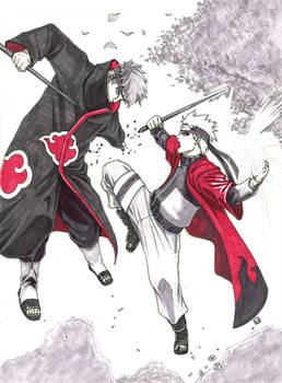 Pain (Nagato) vs Naruto