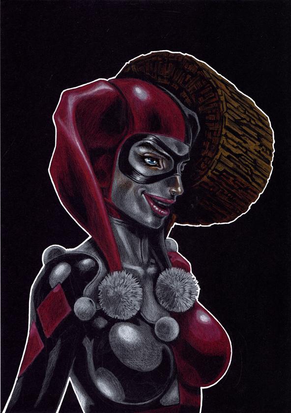 Harley Quinn by Keatopia