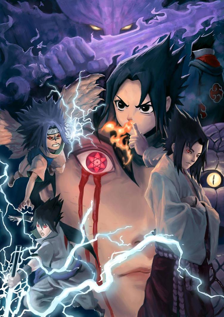 Sasuke Uchiha by Keatopia