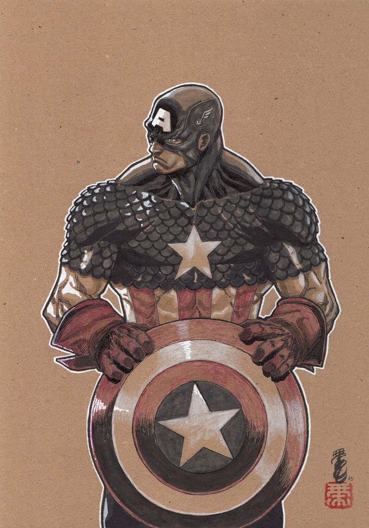 Captain America by Keatopia