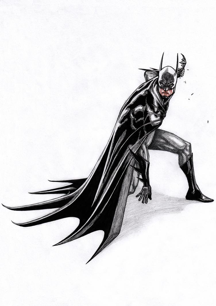 Batman X'mas 2016 by Keatopia