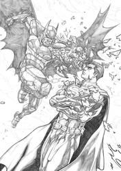 Batman VS Superman Keatopia