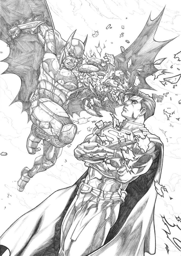 Batman VS Superman Keatopia by Keatopia