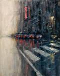 Rainy Evening in NY