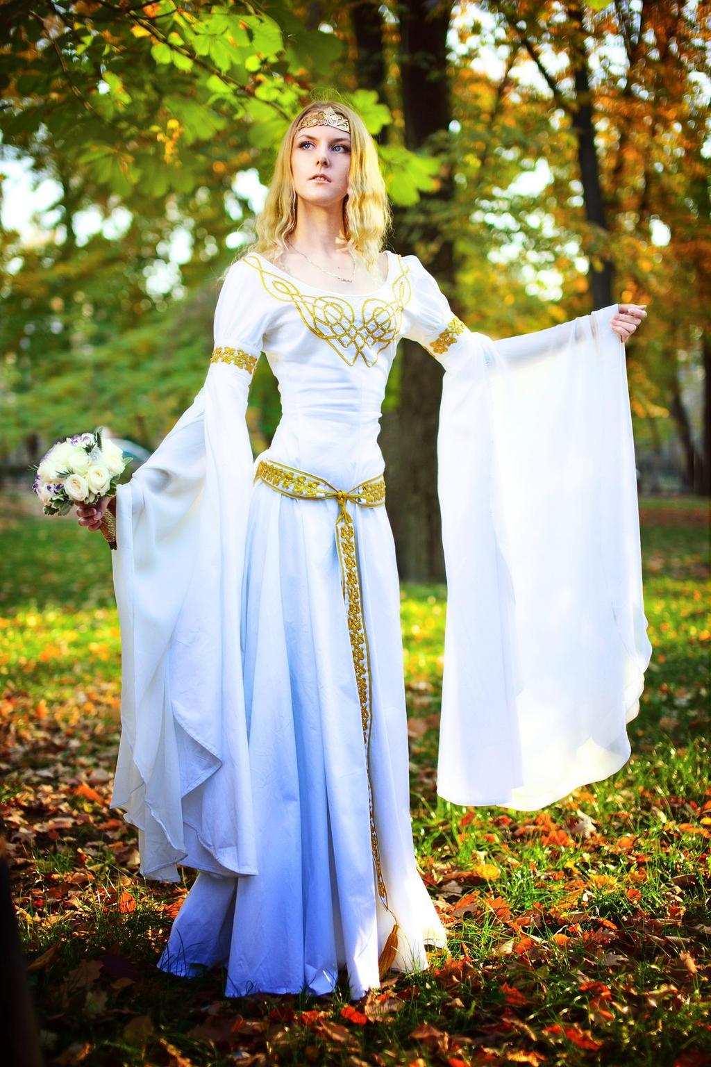The Elven Wedding Dress By Ainaven On Deviantart