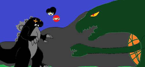 Godzilla Vs Biollantie 1988 by jesserebornford