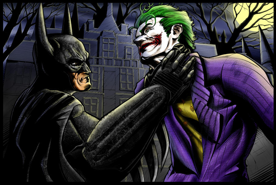 the batman vs joker