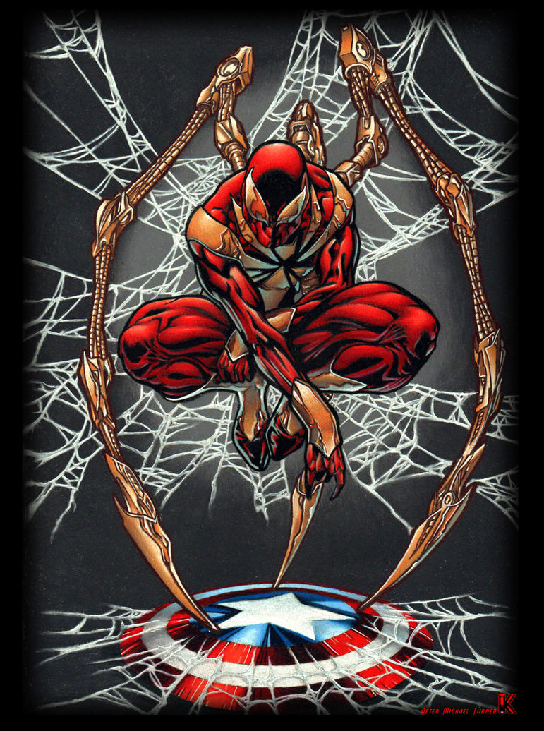 Iron Spider by KYLE-CHANEY
