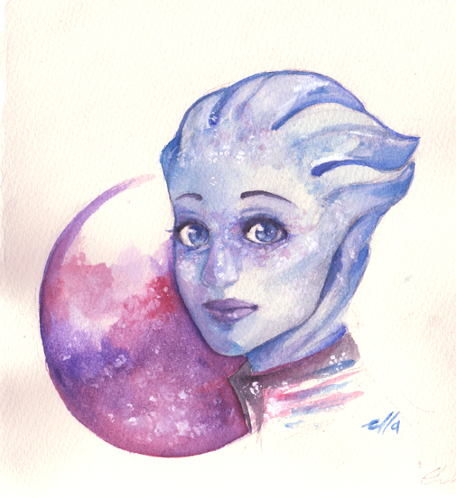 Liara by dodostad