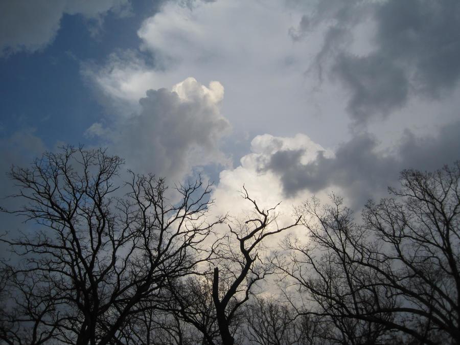 thunderhead clouds wallpaper - photo #25
