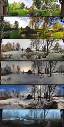 The Seasons by equilerex