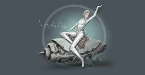 Rocket Girl by equilerex