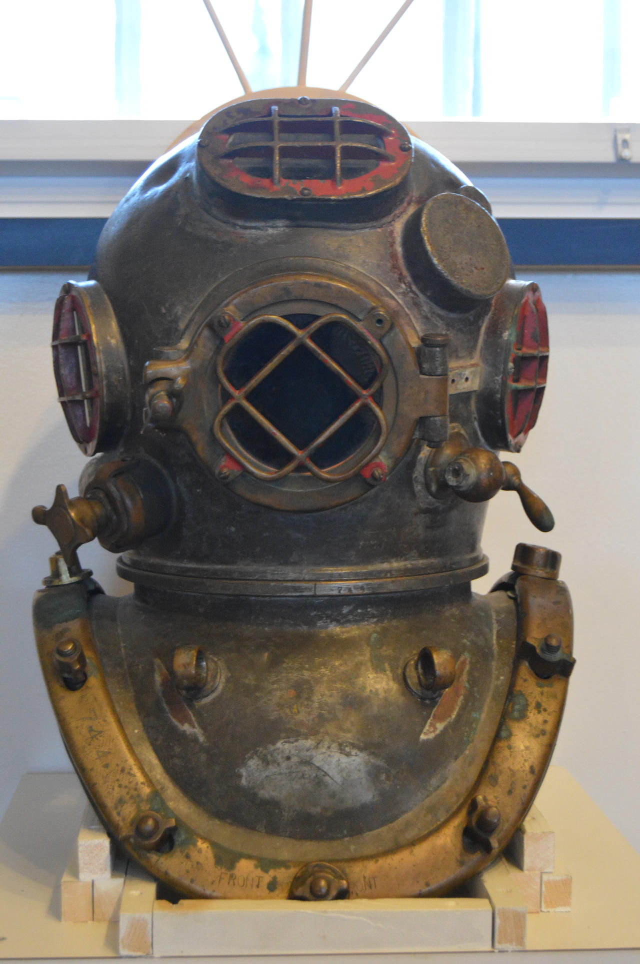 Antique Divers Helmet
