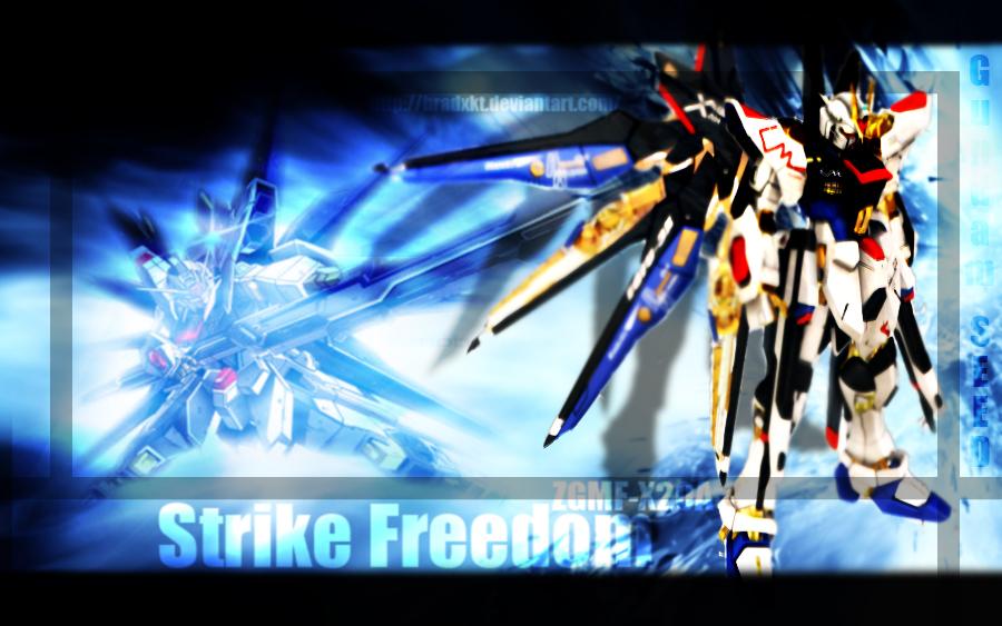 Gundam SEED: Strike Freedom by BradxKT