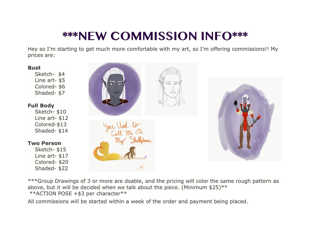 New Commision Info by twzzlerz