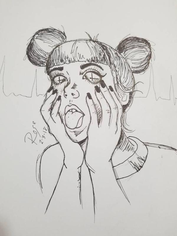 Fear Face by HarlieRoseDoodles