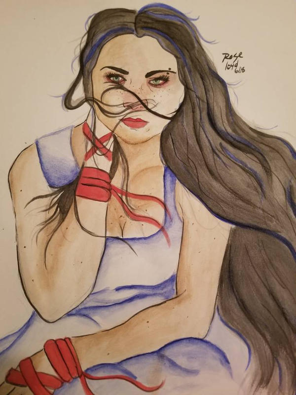 Amy Lee (Evanescence) by HarlieRoseDoodles