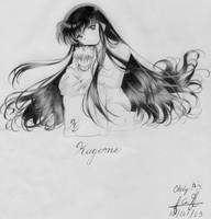 Kagome with looong hair by Chely2006