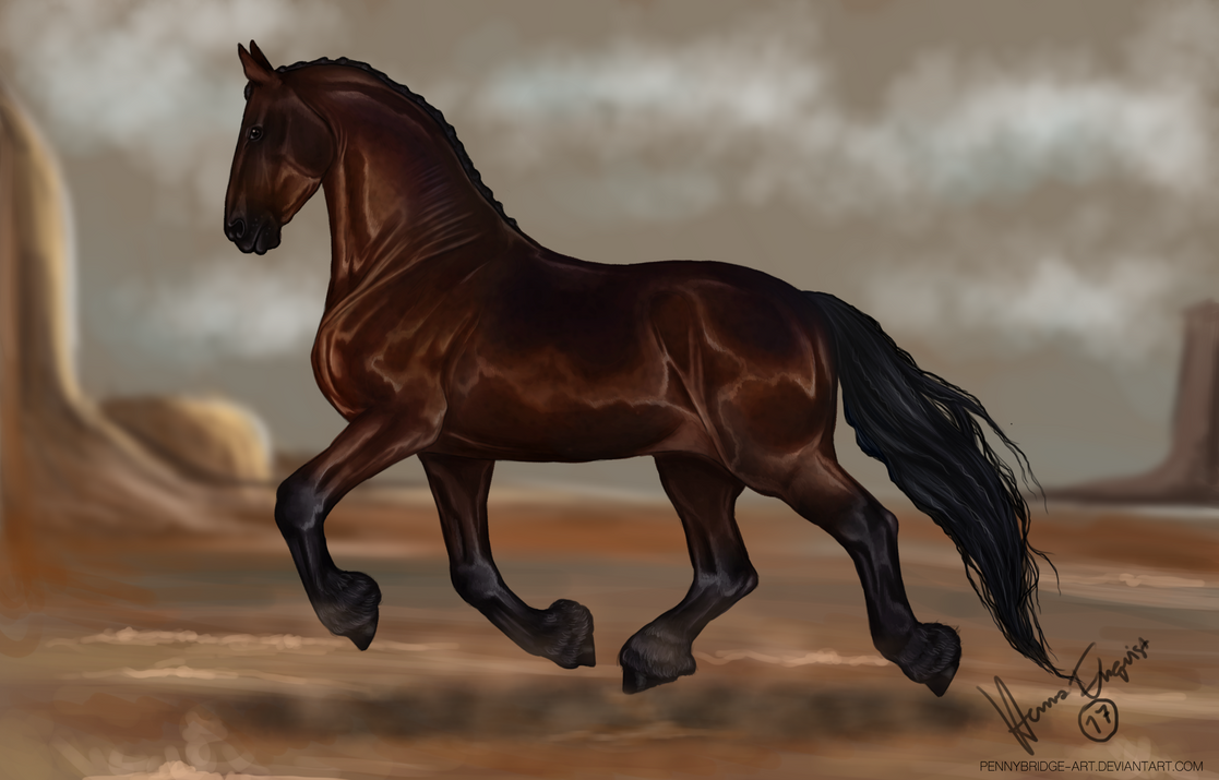 Dancing in the desert by Pennybridge-Art