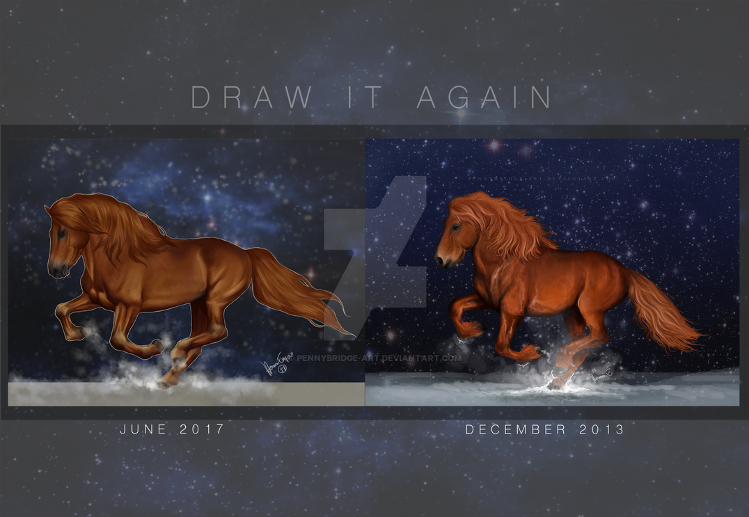 Daw it again challenge by Pennybridge-Art