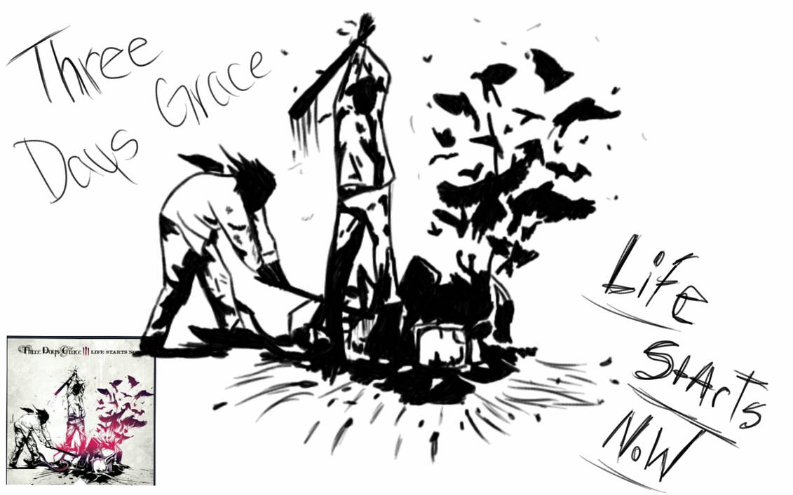 Three Days Grace Life Starts Now Album Cover By Talonclawsuperpersun On Deviantart