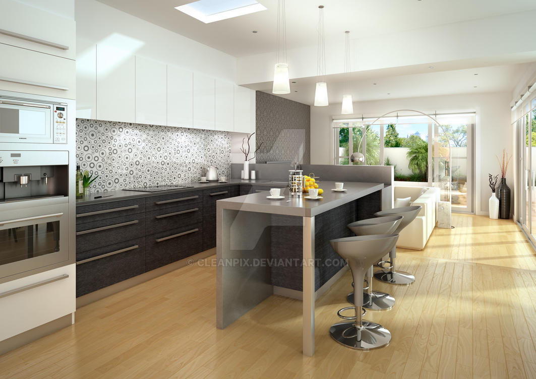 architectural interior renderings. Architecture: Interior 3d Render By Cleanpix Architectural Renderings K