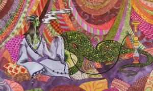 Hookah Dreams by annekaretnikov