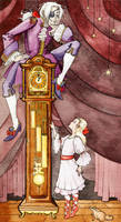 Drosselmeyer Past Midnight by annekaretnikov