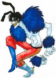 Chief Blue Meanie by annekaretnikov