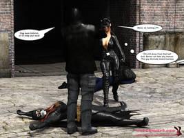 Batgirl vs Cain - Page 20 by mrbunnyart