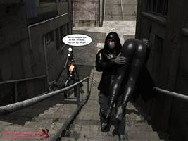 Batgirl vs Cain - Page 21 by mrbunnyart