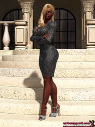 Jasmine Ochoa (aka Pantera) by mrbunnyart