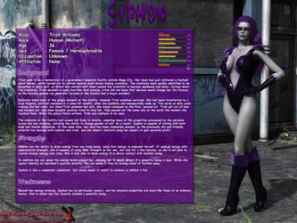 Fact sheet - Syphon