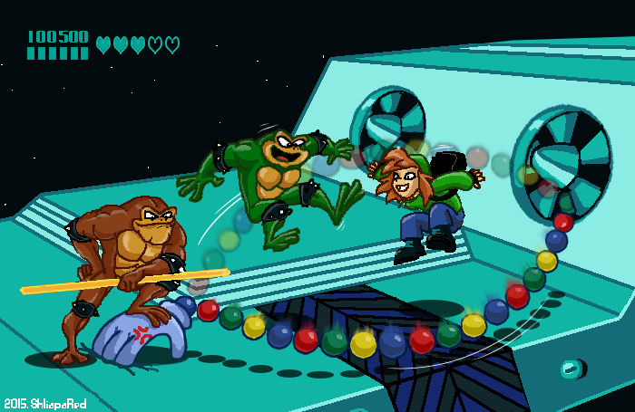 Battletoads And Double Dragon By Shliapared On Deviantart