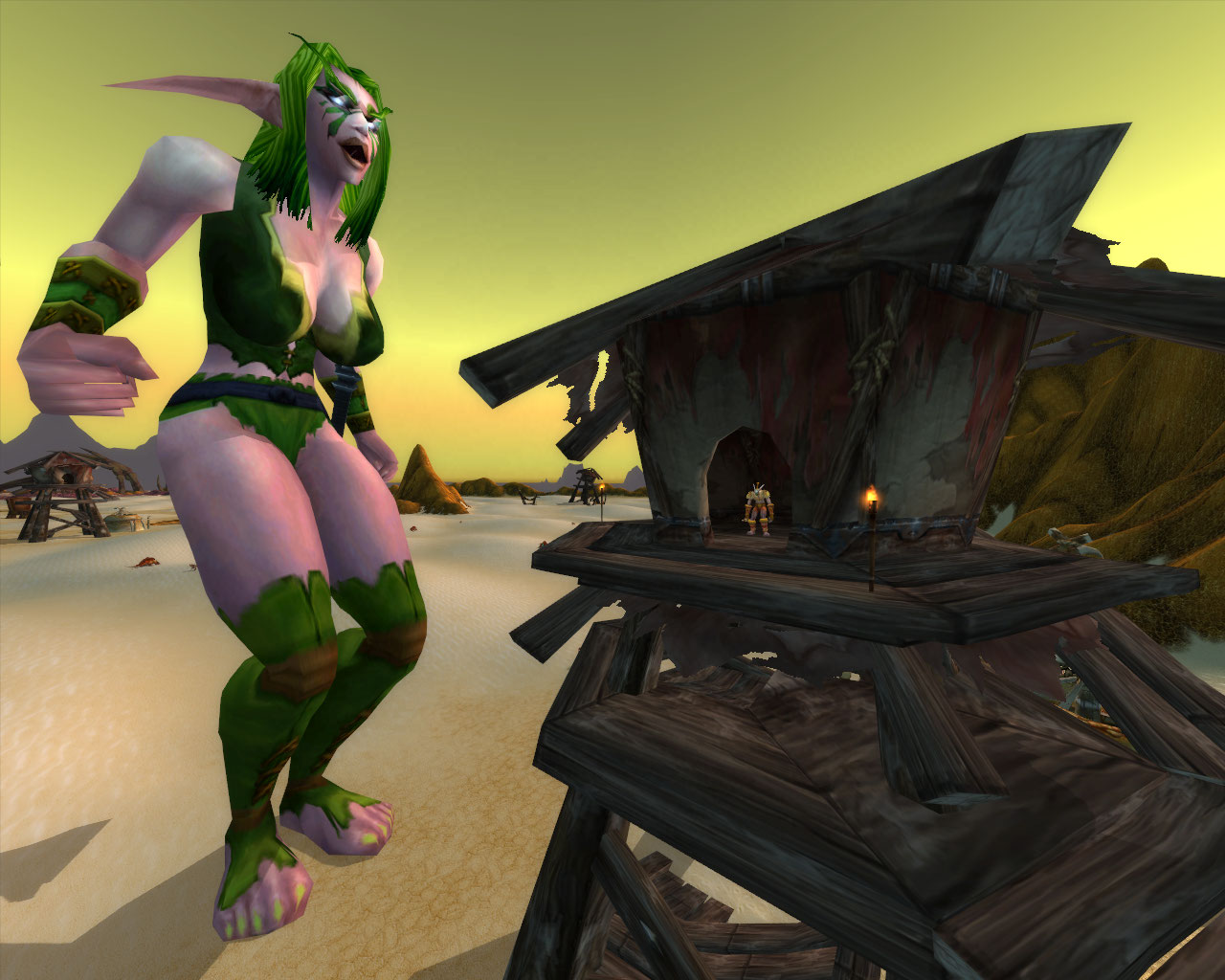 3d warcraft nightelf pron clips