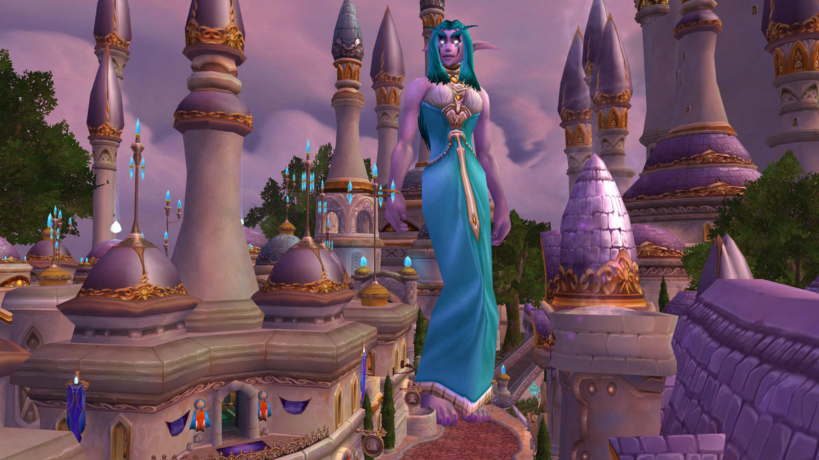 Night elf giantess naked pictures