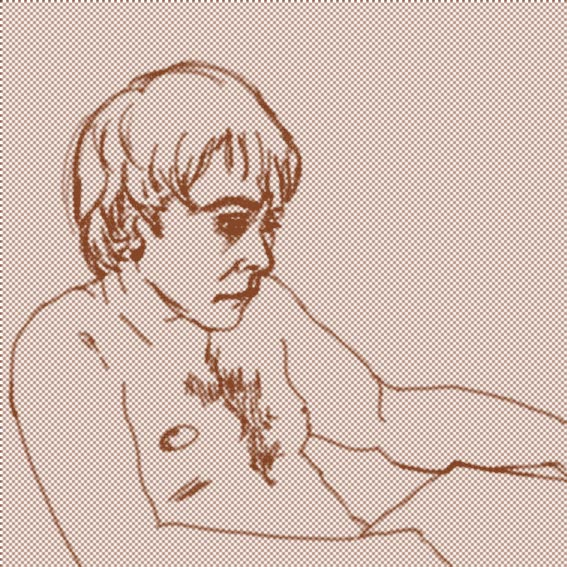Worried man 2 by Mlle-Li