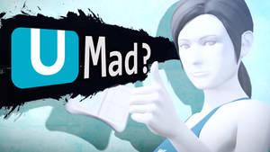 U MAD? - Wii Fit Trainer Wallpaper