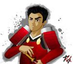 Kiriban 2000th - The Red Samurai