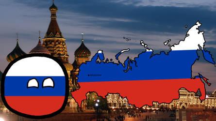 Countryballs #17 - Russia by noasmixx
