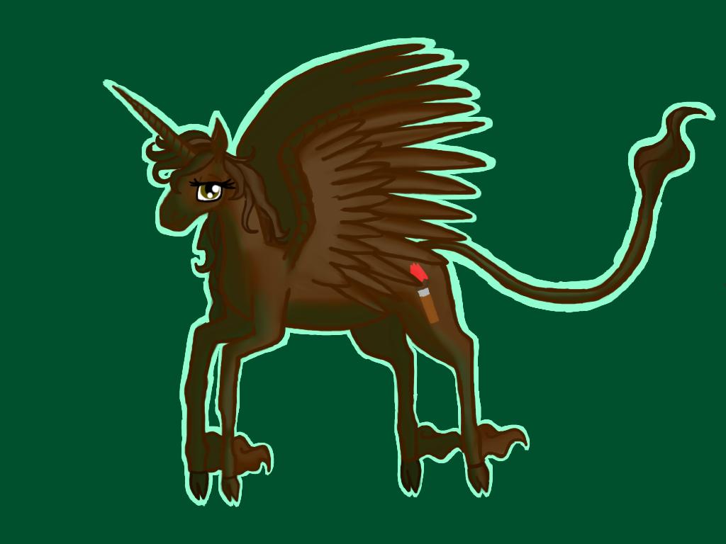 Pony Me in last unicorn style by barnowlgurl23