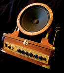 Steampunk Guitar Amplifier