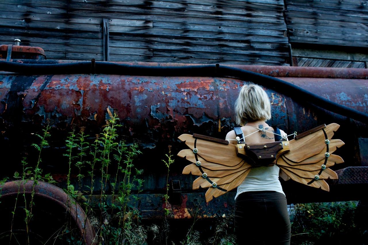 Steampunk Icarus Wings MK1 2 by steampunk22