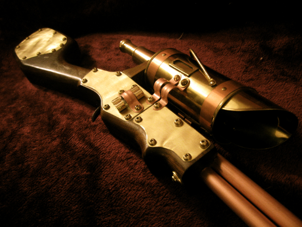 Steampunk Sniper Rifle by steampunk22