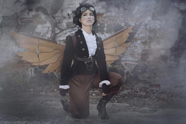 Steampunk Icarus Wings MK3 3 by steampunk22