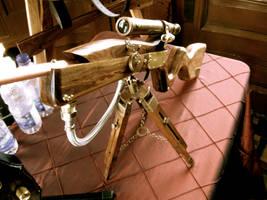 Steampunk Sniper Rifle II by steampunk22