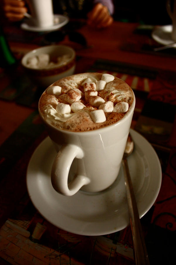 hot chocolate and marshmallows chocolate food hot chocolate chocolate ...