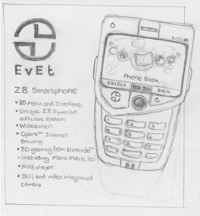 Mobile Phone Design by DaleButt
