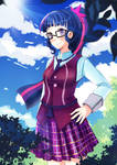 Twilight with glasses
